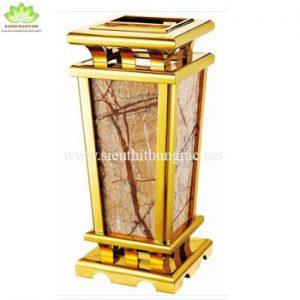 thùng rác đá hoa cương A016