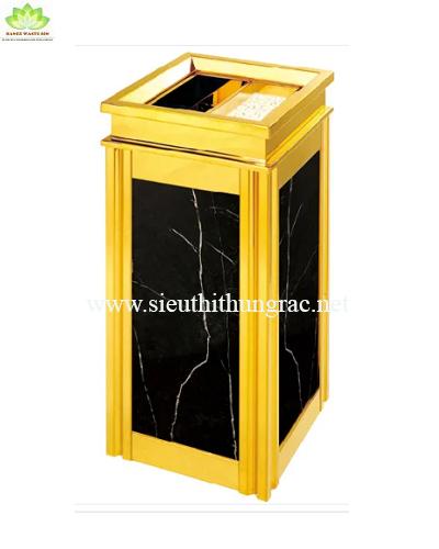 thùng rác đá hoa cương A14B