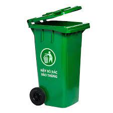 thùng rác nhựa hdpe 90 lít bánh xe